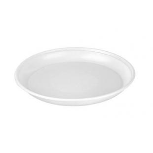 Deserta šķīvis, diametrs 170 mm, balts, PS, 100 gab.