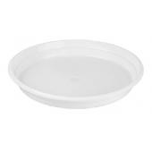 Šķīvis, diametrs 200 mm, balts, PS, 100 gab.